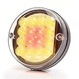 ø 100 mm Rear- Brake- Indicator lamp, glear glass, LED_7