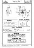 Brake caliper Right P32F Brembo_6