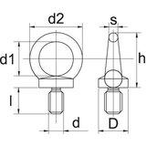 Domed cap nut M5 Zinc-pl._50