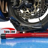 Motorcycle front wheel support standard._7
