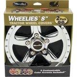 "6"" WHEELIES Wheelcover Chromed 6""_7"