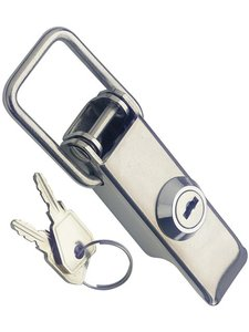 Toggle Latches with Key Lock, Stainless Steel.