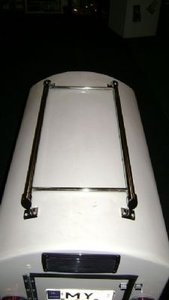 TM200-TM251-DT1 Luggagerack standard, DogTrailer