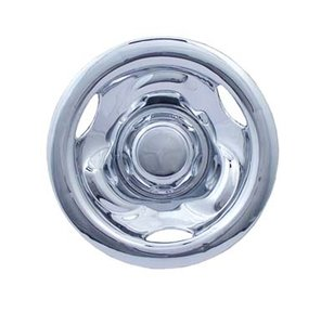 """8"""" DEEP DISH Wheelcover Chromed 8"""", price for 2 pieces."""