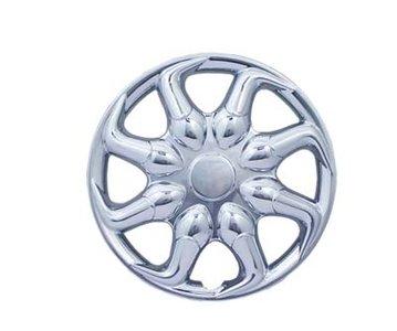 "8"" NINJA Wheelcover Chromed 8"" 2- pieces"