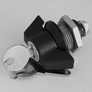 Wing lock with cilinder lock