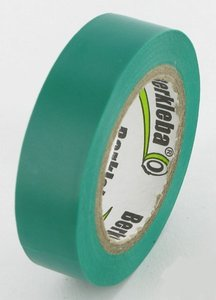 Isulation tape Green, 15mm x 10 Mtr.
