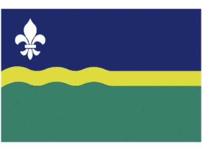 Flag province Flevoland 20x30cm.