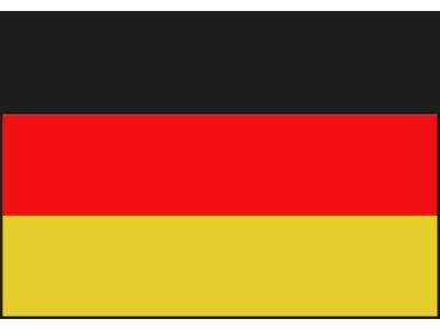 z- Gemany flag 20x30cm / 30x45cm