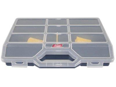 Assortment box, variable boxes, Blue 312x238x51mm