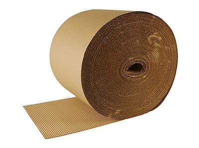 Corrugated paper, 0,66x70mtr, 1-ply.