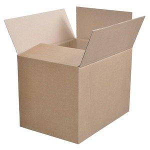 Box Folding model 304x214x220mm, glued