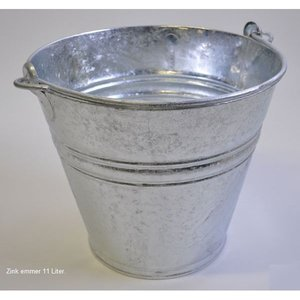 Bucket galvanised 11Ltr.