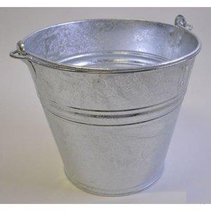 Bucket galvanised 14Ltr.