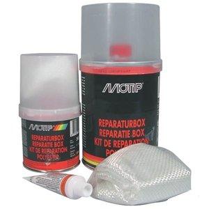 Polyester parts & repair kit, 1000 gr.