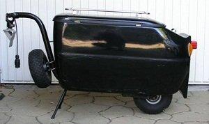 """Spare wheel holder 400x4"""""""