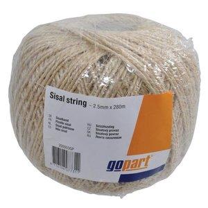Rope Sisal, 2,5 mm - 280 M