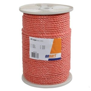 Rope Nylon Red, from 4mm-12mm,220mtr.