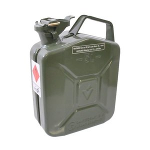Fuel canister metal, 5 Ltr.