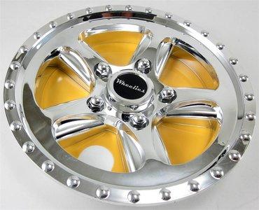 "8"" WHEELIES Wheelcover Chromed 8"""