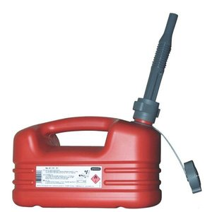Jerrycan  5 Ltr.Red