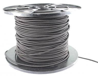 Elastic rope, 6 mm, black