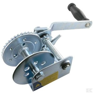 Winch with strap 250kg, 4,5mtr.