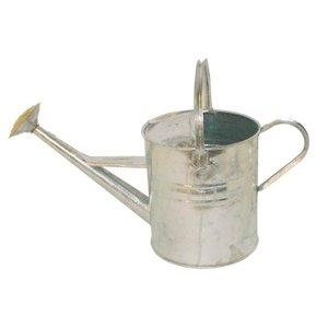 Watering can, 9Ltr. metal, galvanised.