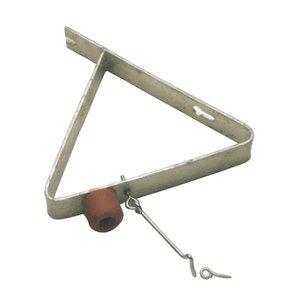 Door catcher + buffer and hook, 280x4x40mm
