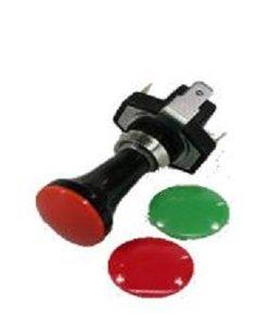 Switch color caps, 12-24 Volt.