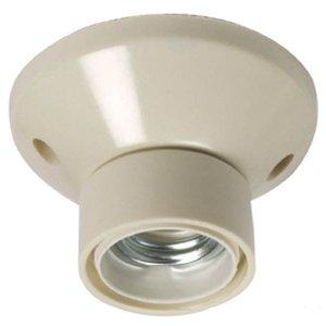 Ceiling bulb holder E27 White