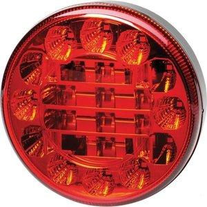 Hella Taillight  & Brakelight, Rear  2 function LED 122 mm Li+Re.