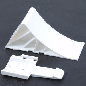 Wheel chock plastic + holder