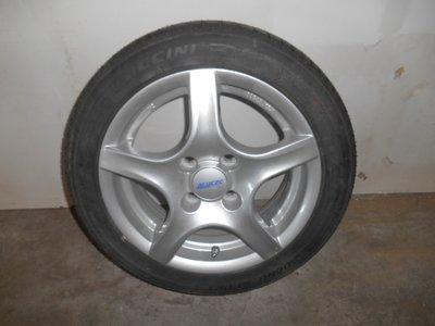 "14""- 165/55 R14"", Alu Wheel complete"