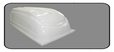 Lid for trailer polyester 2560x1330x700mm.