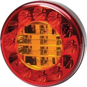 Hella ø 122 mm Taillight Rear 3 function lamp 12V LED Li+Re.
