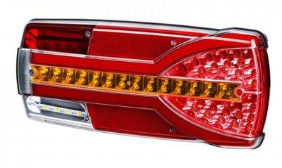 - Taillight LED, Multi-connector, 288x105x40mm LED, Li + Re