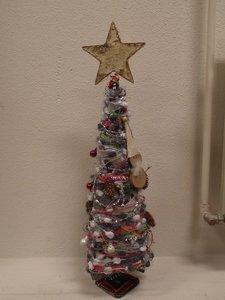 Christmas tree, metal.