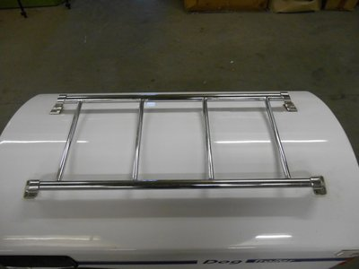 DT1 Dogtrailer Luggagerack DeLux Chrome