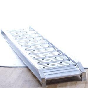 Ramps straight  ALU 500 kg. set 2 pieces 1,81 mtr.