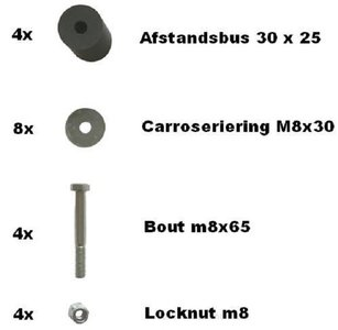 Storagebox bolt set.