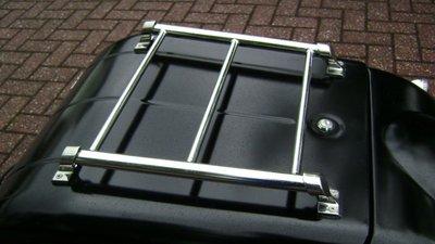 TM350 Luggagerack, Standard Chrome