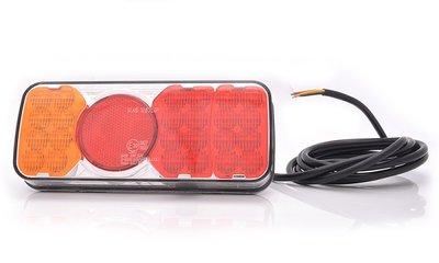 Taillight LED, Multi-connector, 288x105x40mm LED, Li + Re