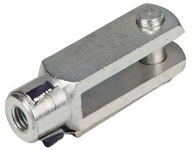Steel yoke with clip from 5x20mm