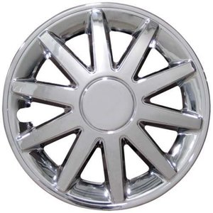 "8"" Wheel Cover 10-Spoke TEKCART, Chrome"