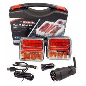 - Taillight 4 functions, 150x80 LED, Li + Re LEDlight.