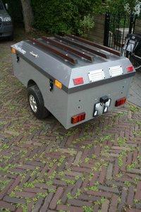 Self-built trailer, Aluminum.