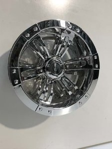 "10"" HERCULES Wheel cover 10"" Chrome"